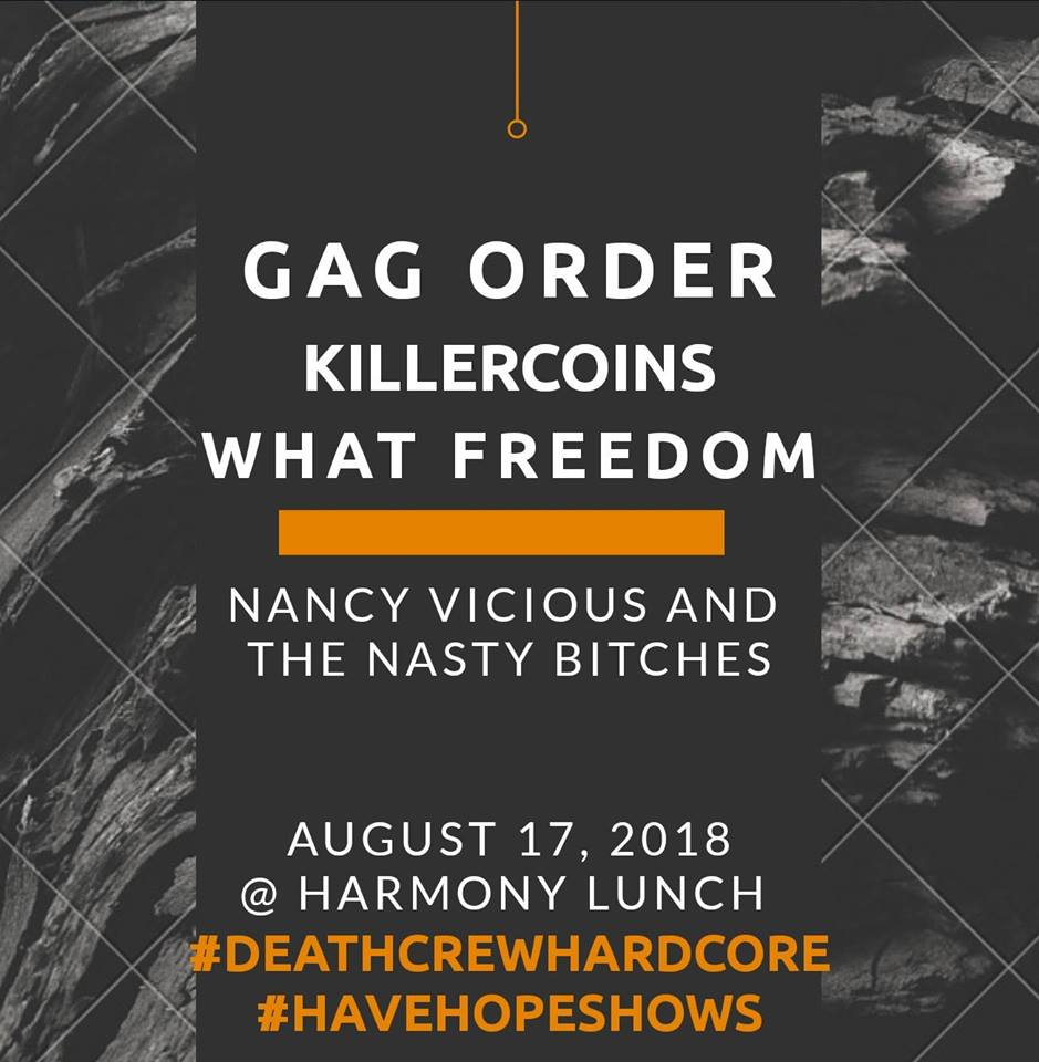 Gag Order and guests - Waterloo
