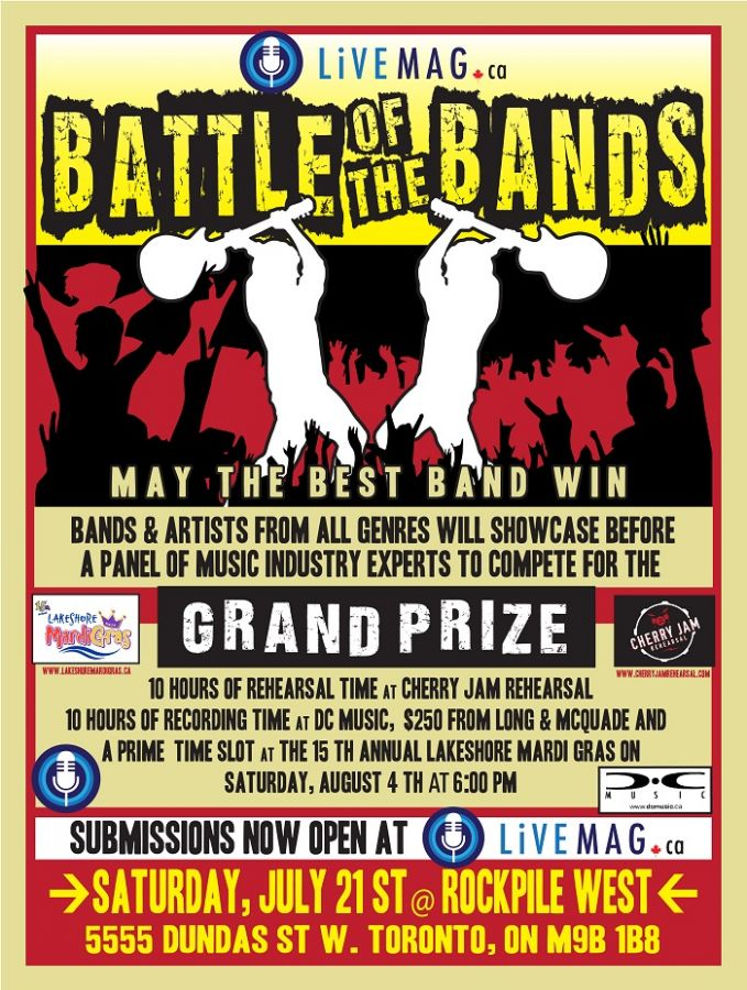 LiveMAG Battle of the Bands