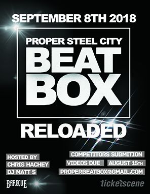 Proper Steel City BeatBox RELOADED