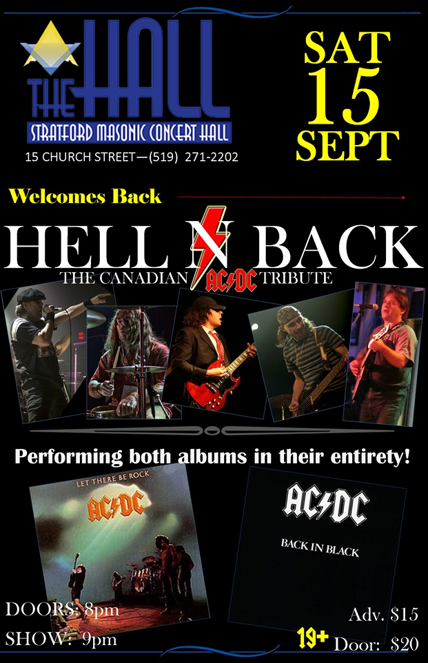 Hell n Back - AC-DC Tribute
