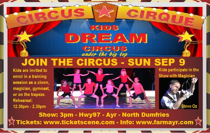 ET THE MIME - Magician Steve Oz & Kids Dream Circus