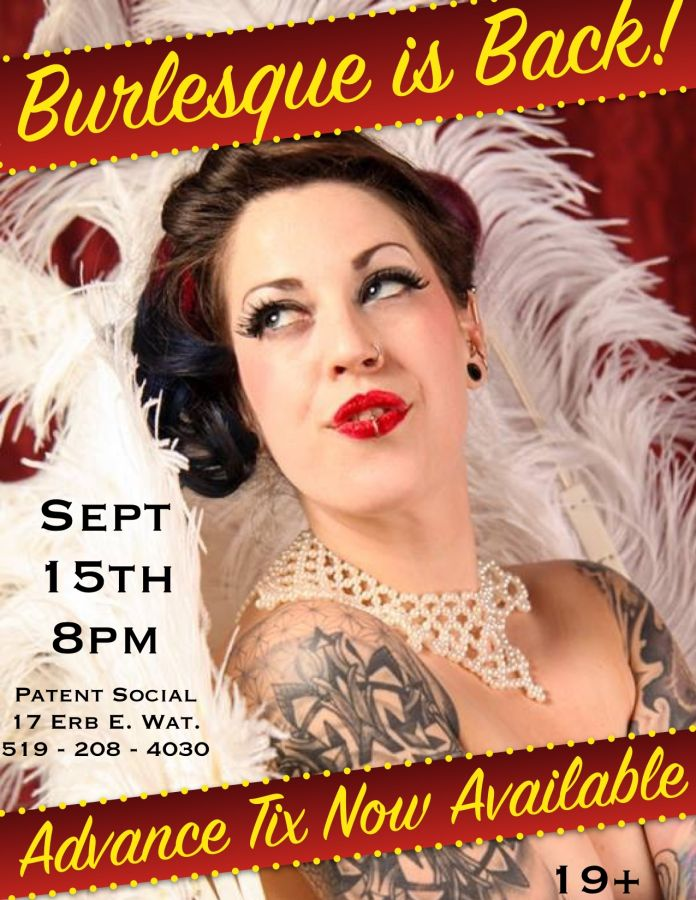 Back To School Burlesque with Tri City Burly-Q - Waterloo