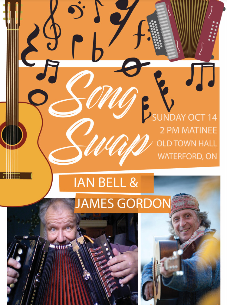 Ian Bell & James Gordon Song Swap