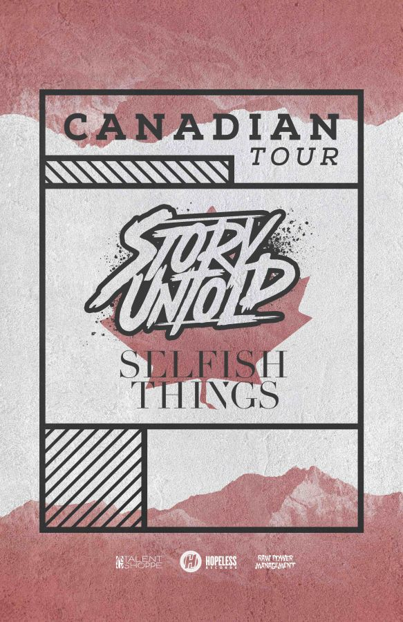 Story Untold, Selfish Things & More In Ottawa 11/30