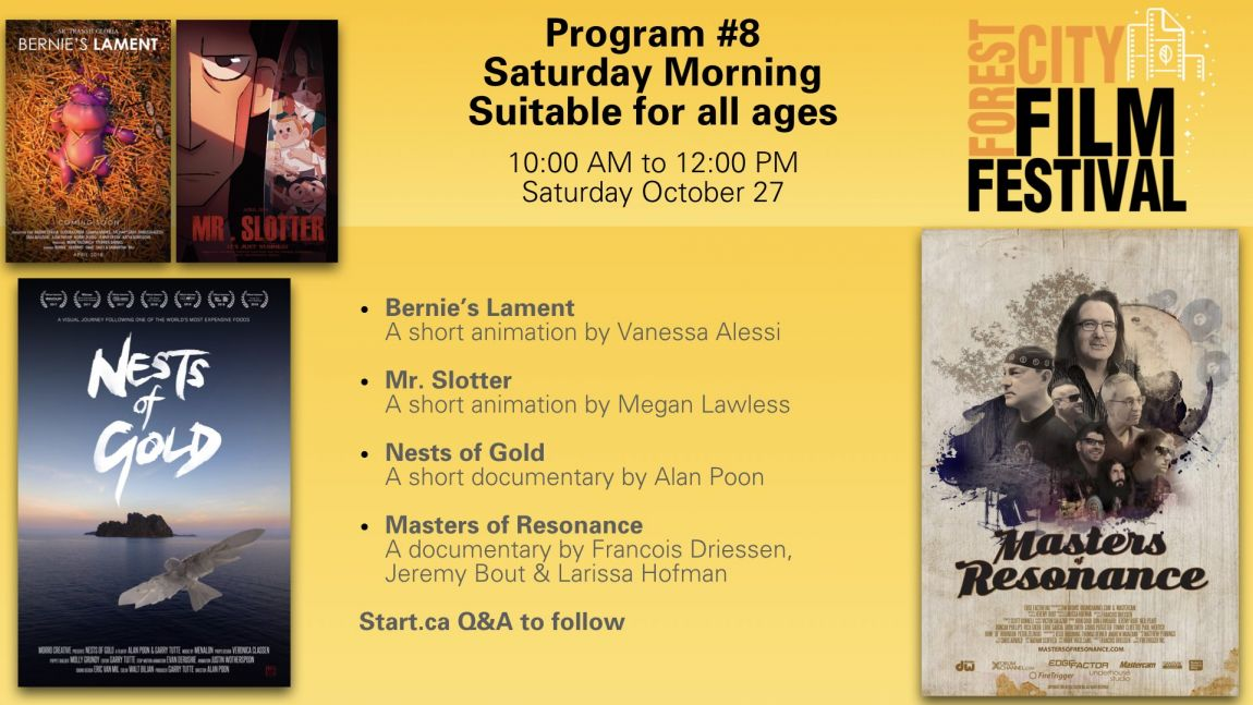 Forest City Film Festival 2018 - Saturday Morning Suitable for Families Program #8