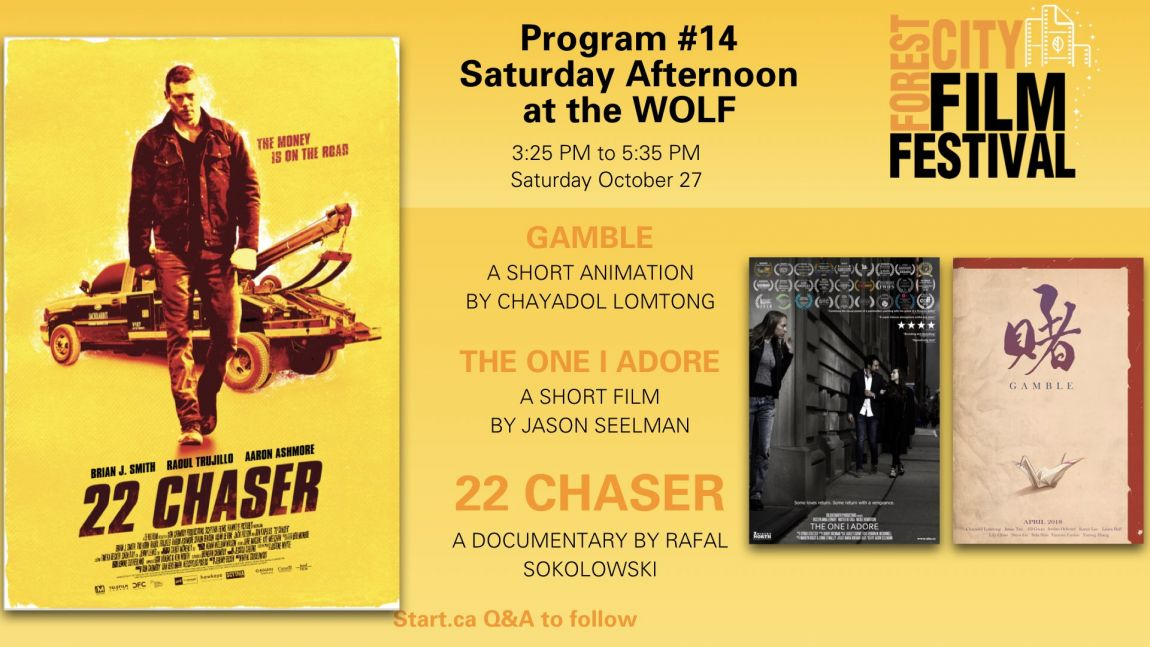 Forest City Film Festival 2018 - Saturday Afternoon at the Wolf, Program #14