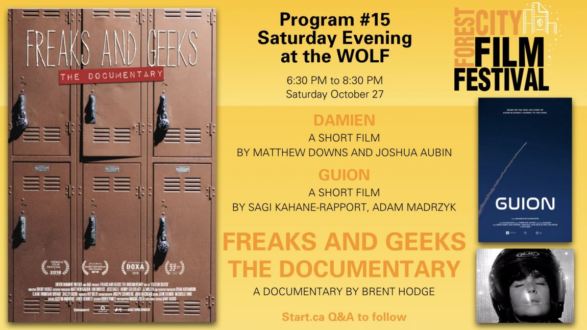 Forest City Film Festival 2018 - Saturday Evening at the Wolf, Program #15