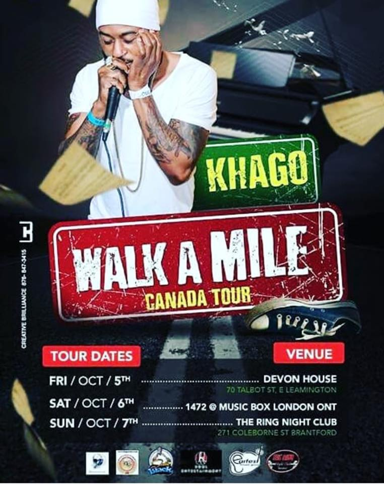 Khago Walk A Mile Canadian Tour - Brantford Ontario