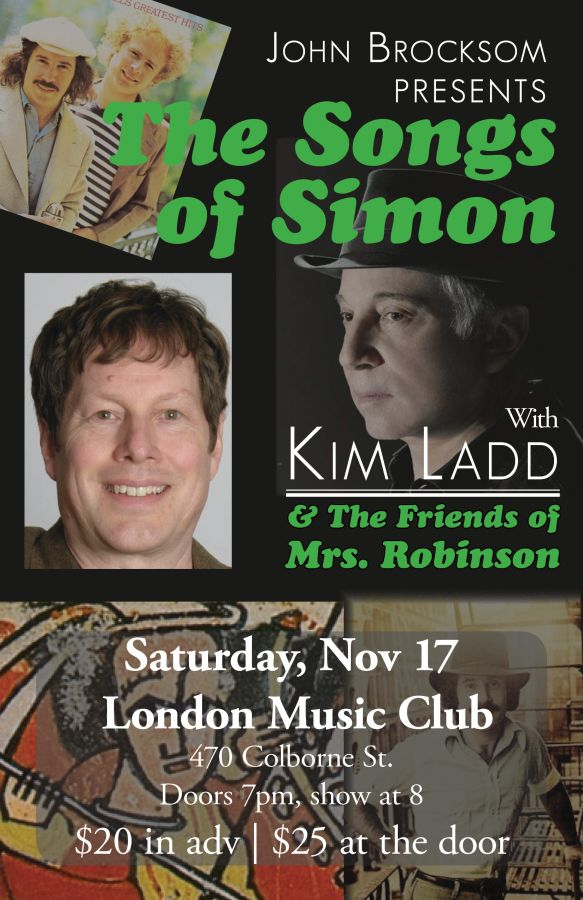 The SONGS of SIMON (Paul Simon Tribute)