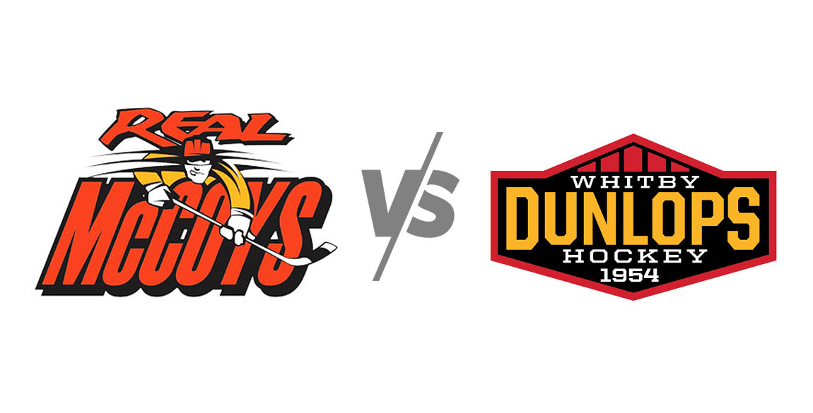 Dundas Real McCoys vs Whitby Dunlops