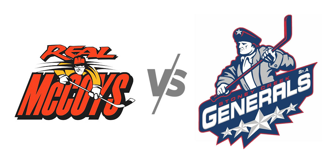 Dundas Real McCoys vs Stoney Creek Generals