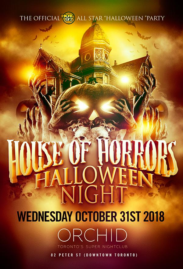 HOUSE OF HORRORS HALLOWEEN COSTUME BASH