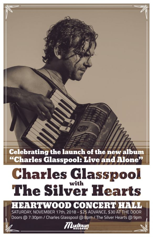 Charles Glasspool w/ The Silver Hearts  *Charles Glasspool: Live & Alone Album Launch