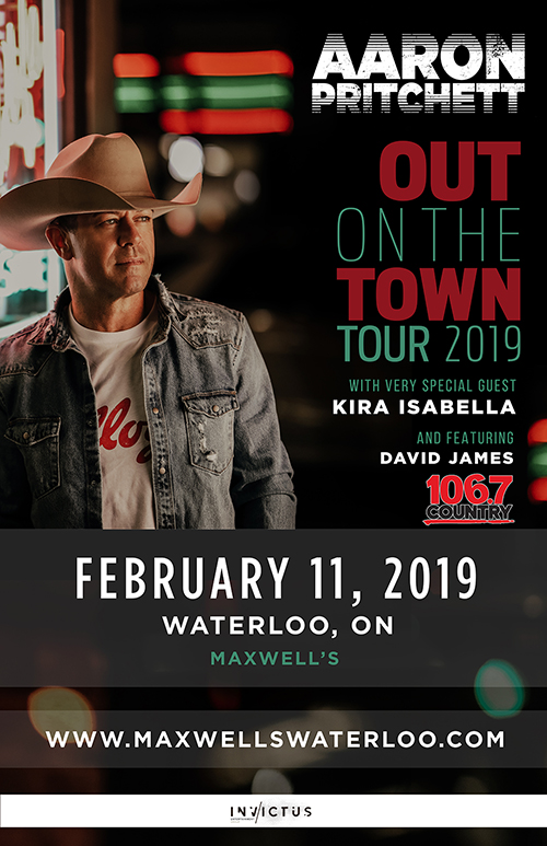 Aaron Pritchett Out On The Town Tour