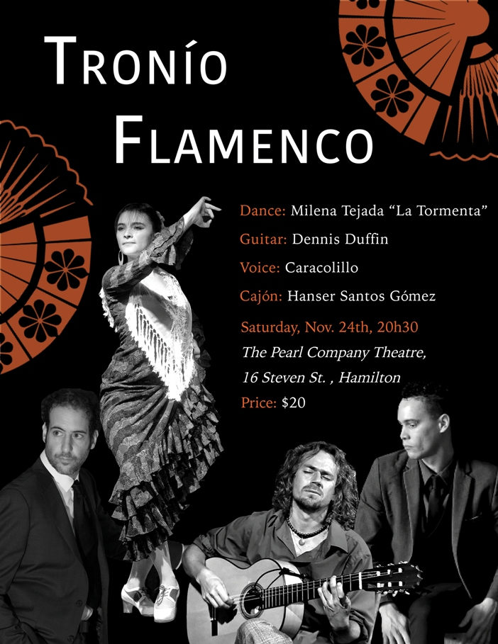 A NIGHT OF FLAMENCO PASSION! Milena Tejada