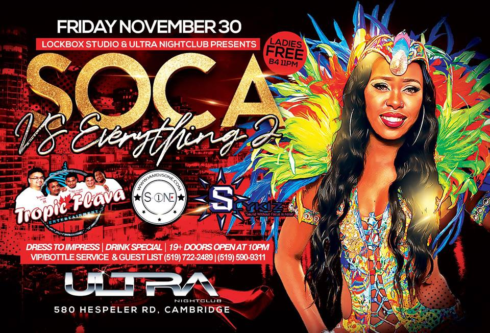 SOCA VS Everything