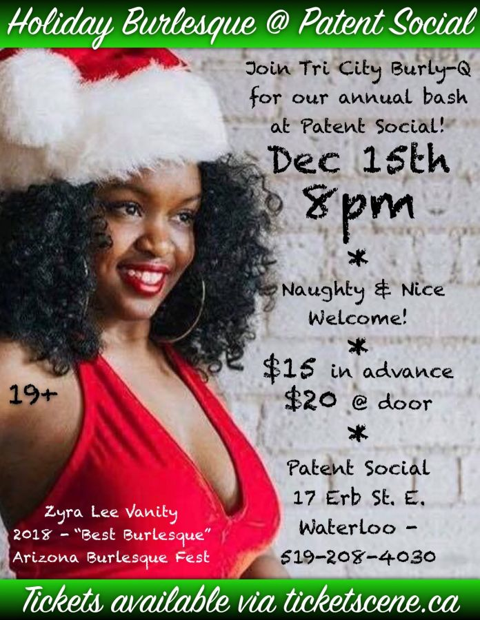 Holiday Burlesque at Patent Social