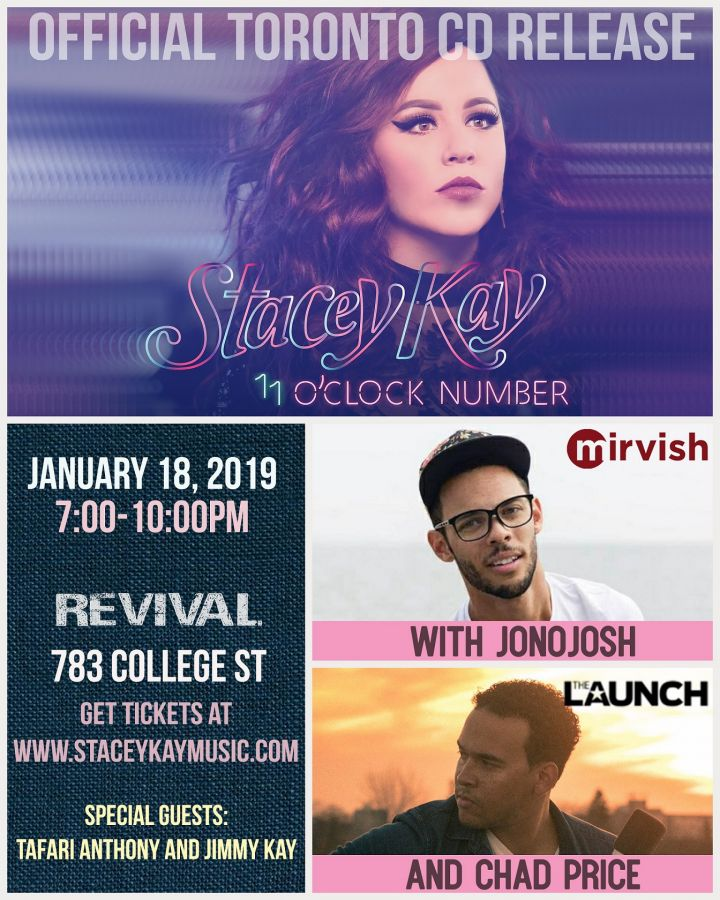 Stacey Kay Official Album Release with JonoJosh and Chad Price