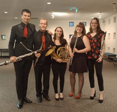 An Outstanding Student Woodwind Quintet
