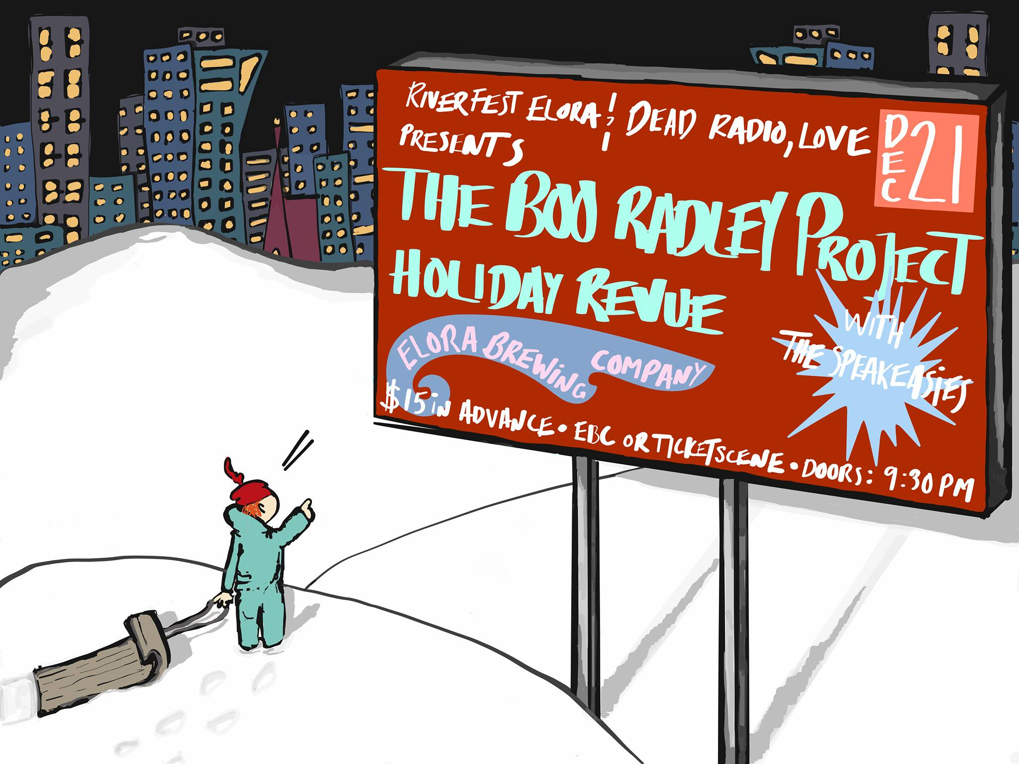 The Boo Radley Project Holiday Revue