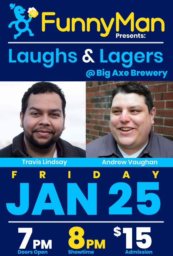 Laughs & Lagers @ Big Axe Brewery