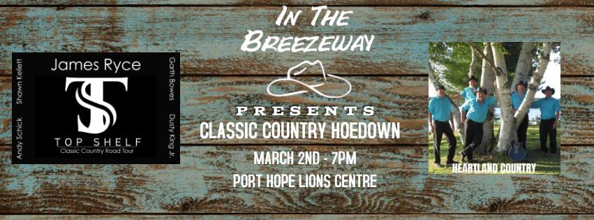 The Breezeway Classic Country Hoedown