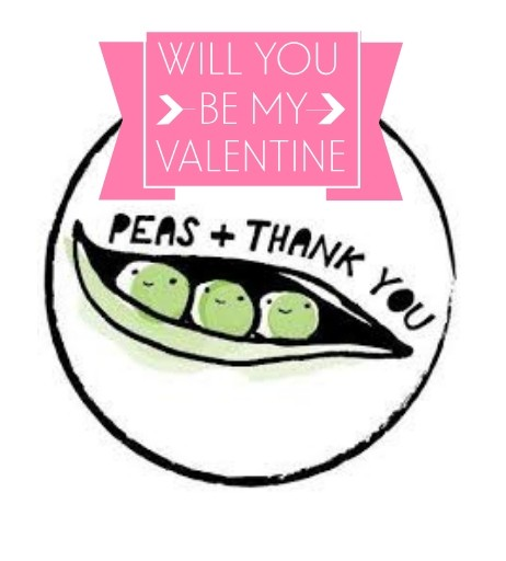 Valentine's Day Dinner and Beer with Peas & Thank You