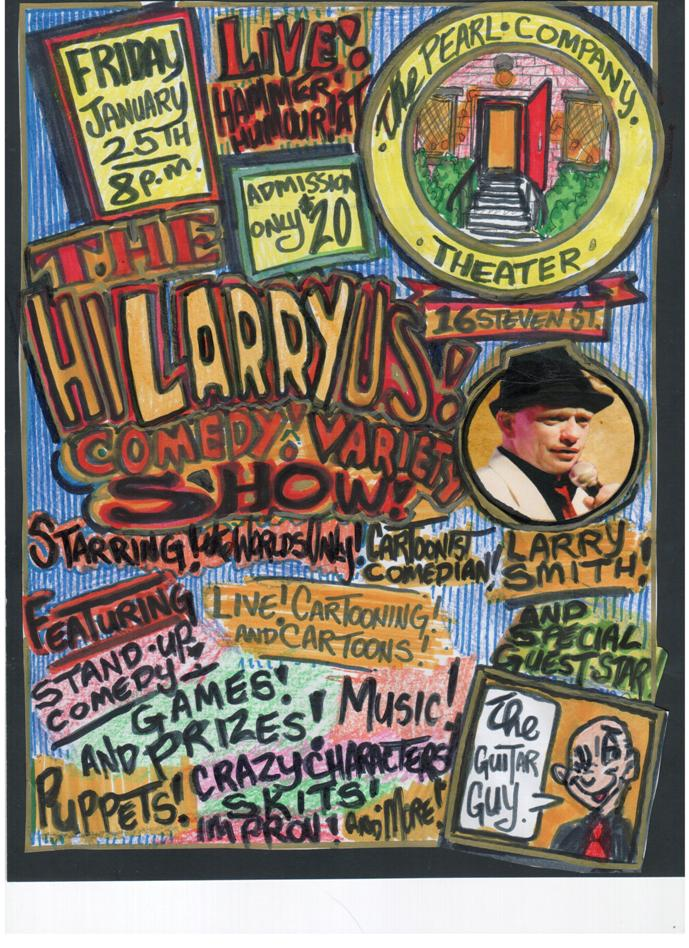 The HI-LARRY-US! Comedy Show