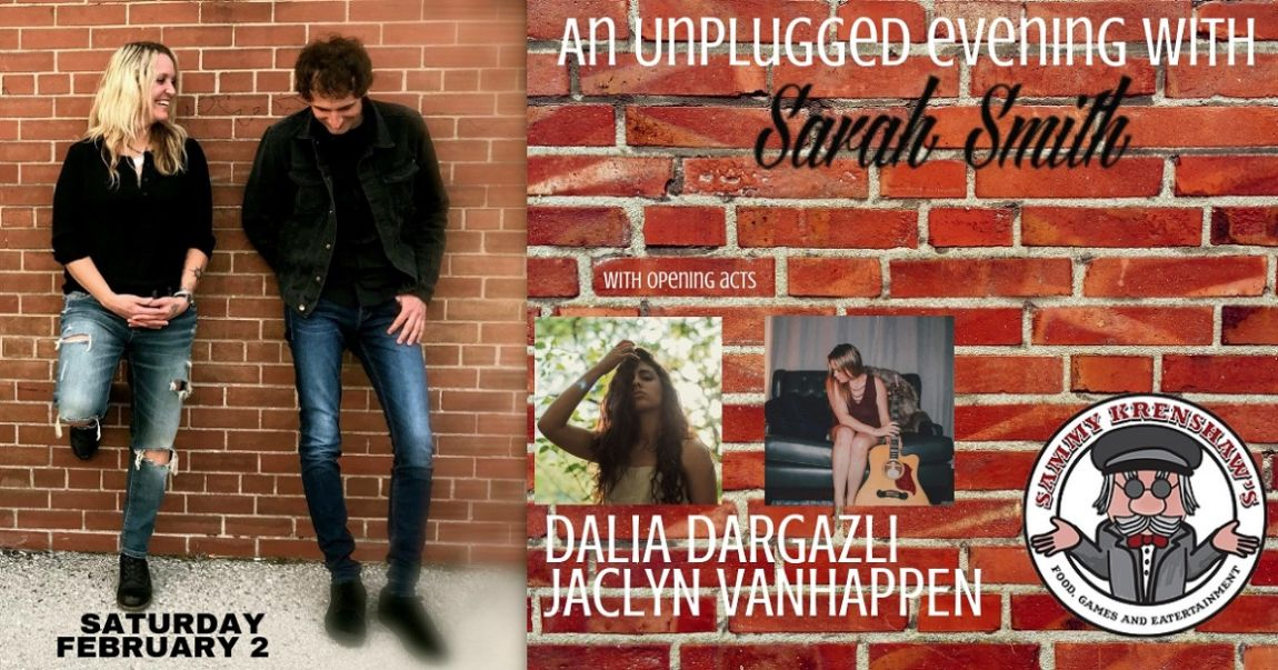 An Unplugged Evening With Sarah Smith