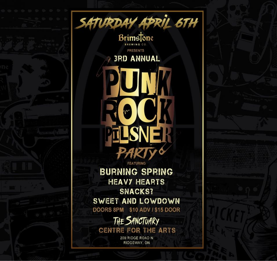 3rd Annual Punk Rock Pilsner Party