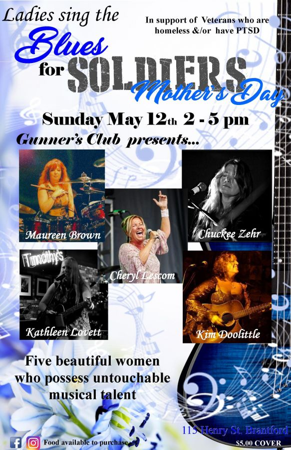 Ladies Sing the Blues for Soldiers Mother's Day