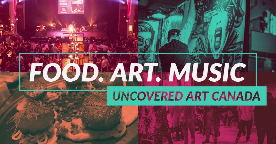 Van City Uncovered Art & Music Gala at the CCC