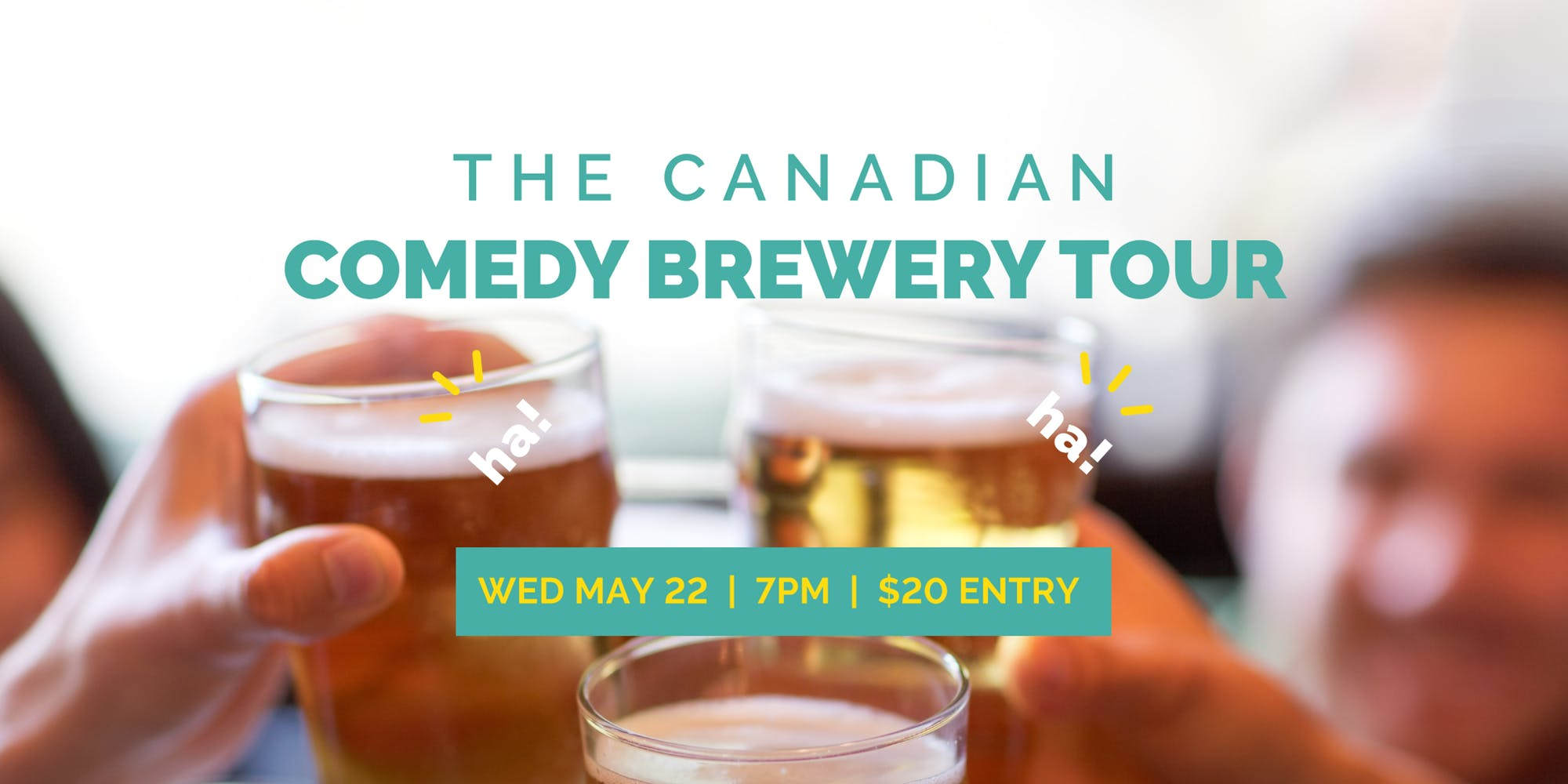 The Canadian Comedy Brewery Tour @ BREWHALL