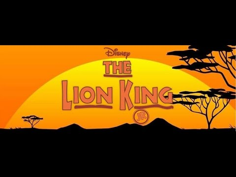 Disney's The Lion King Jr. SUNDAY MATINEE