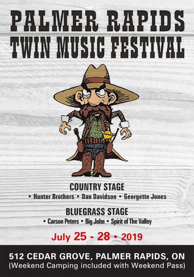 Palmer Rapids Twin Music Festival
