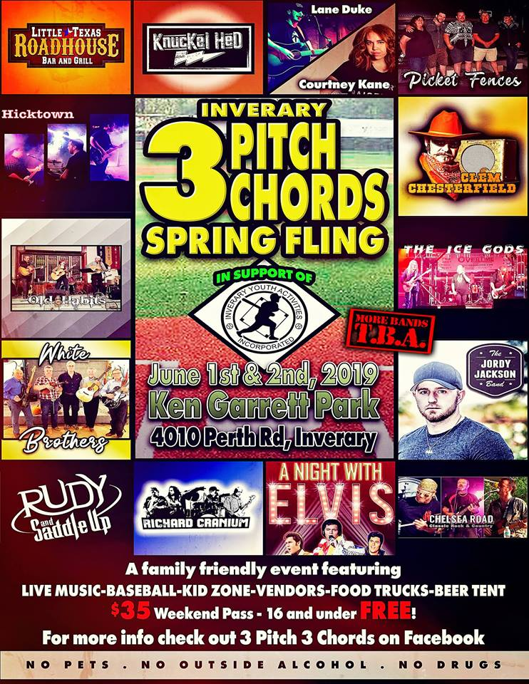 Inverary 3 Pitch 3 Chords Spring Fling