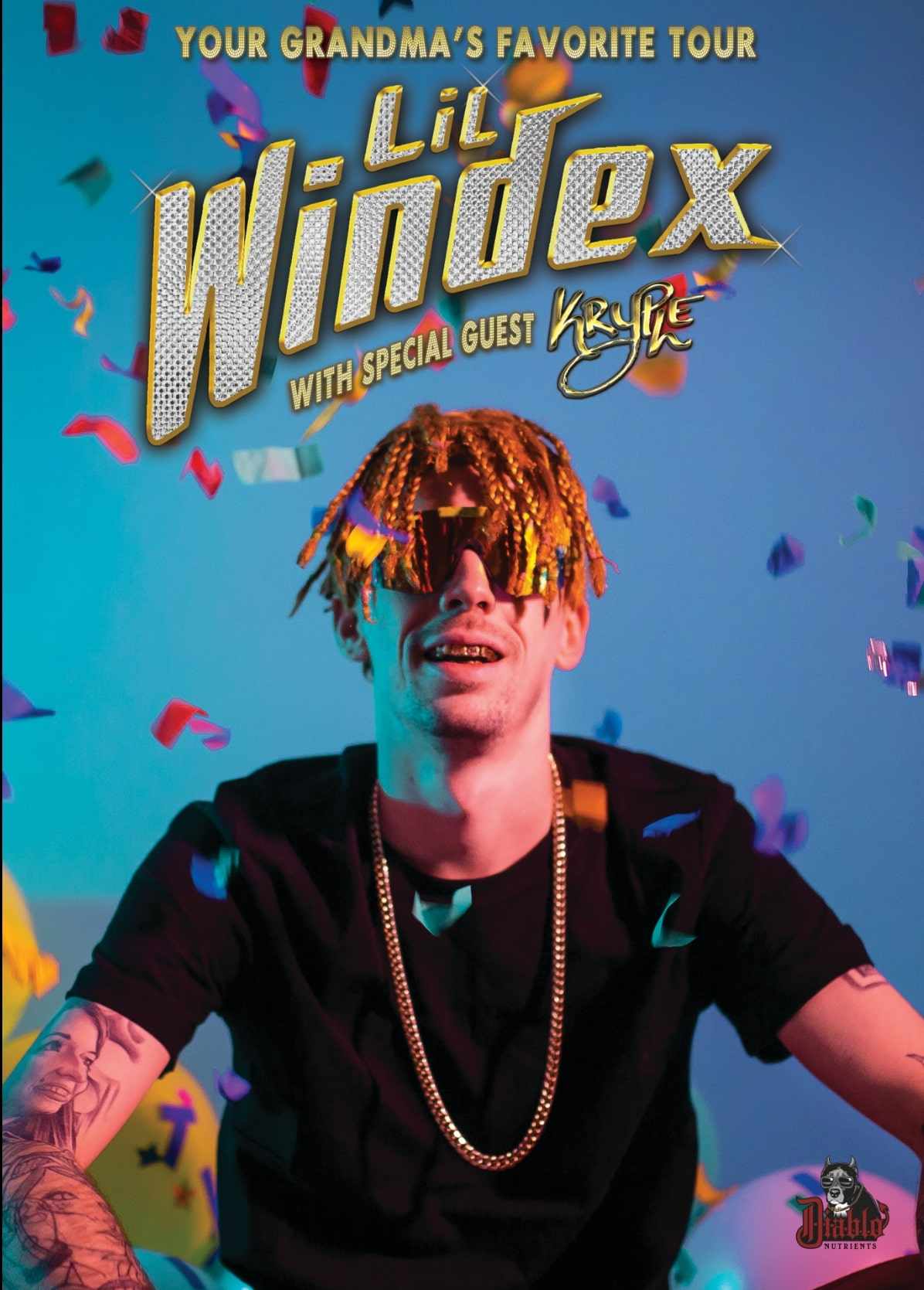 Your Grandma's Favourite Tour with Lil Windex ft. Kryple