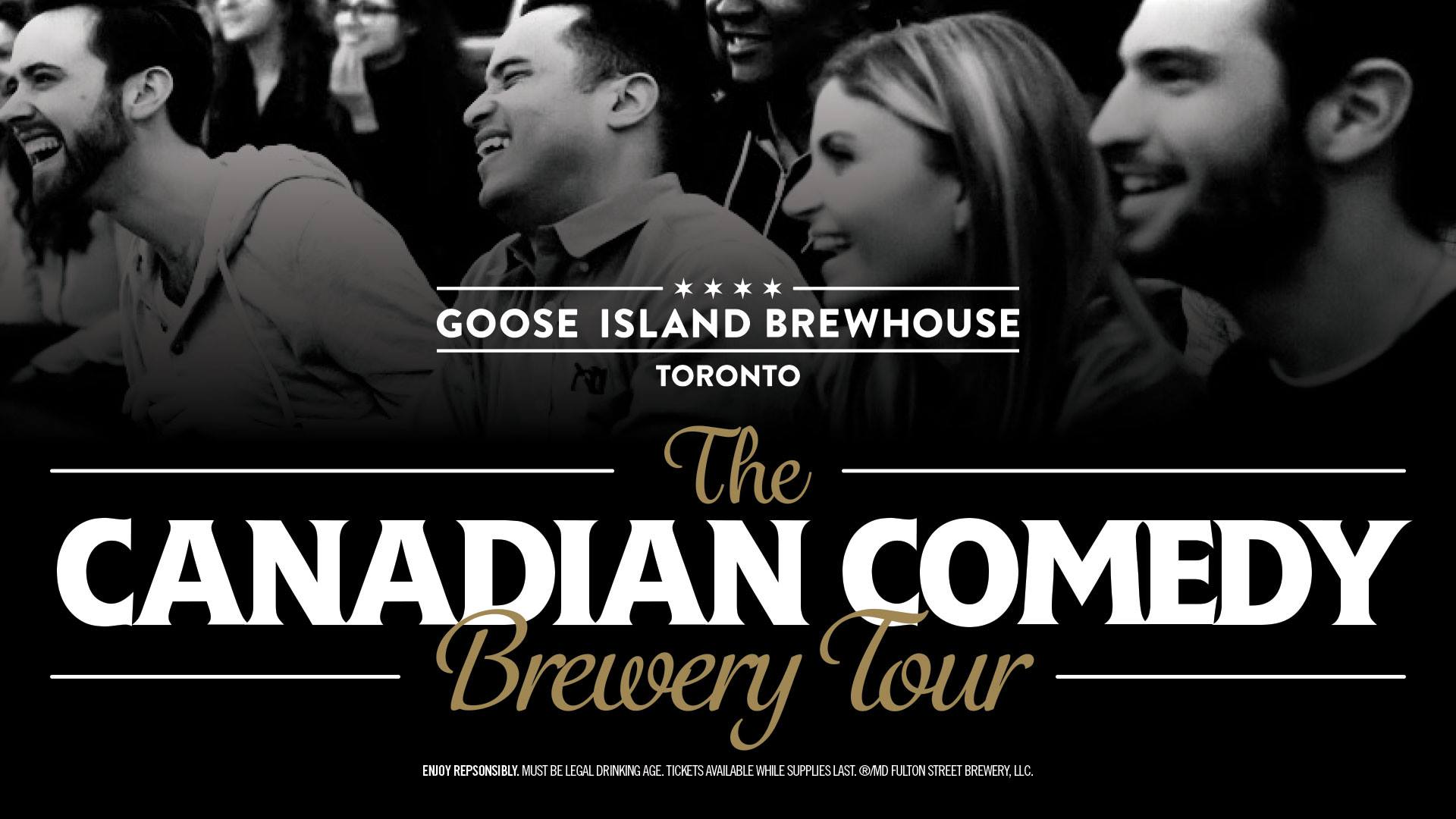 The Canadian Comedy Brewery Tour @ Goose Island Brewhouse Toronto
