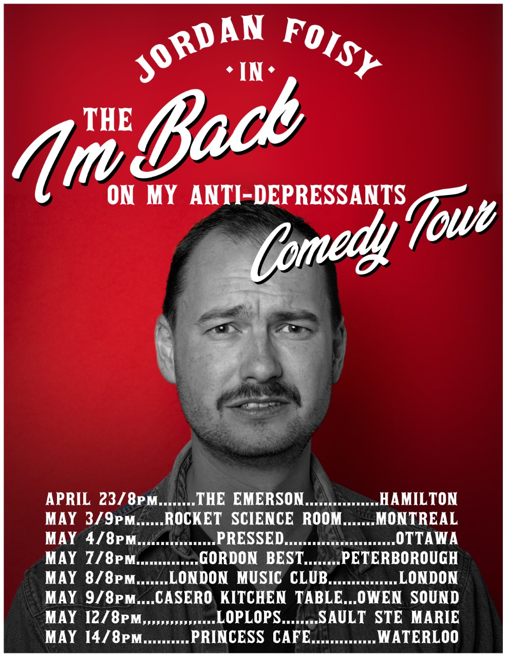 Jordan Foisy in the I'm Back On My Anti-Depressants Comedy Tour @ LMC!!!