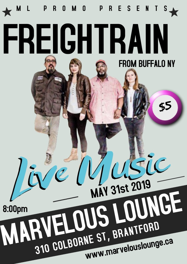 Freightrain live at Marvelous Lounge