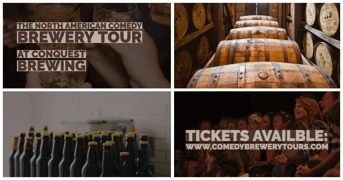 The North American Comedy Brewery Tour @ Conquest Brewing Company