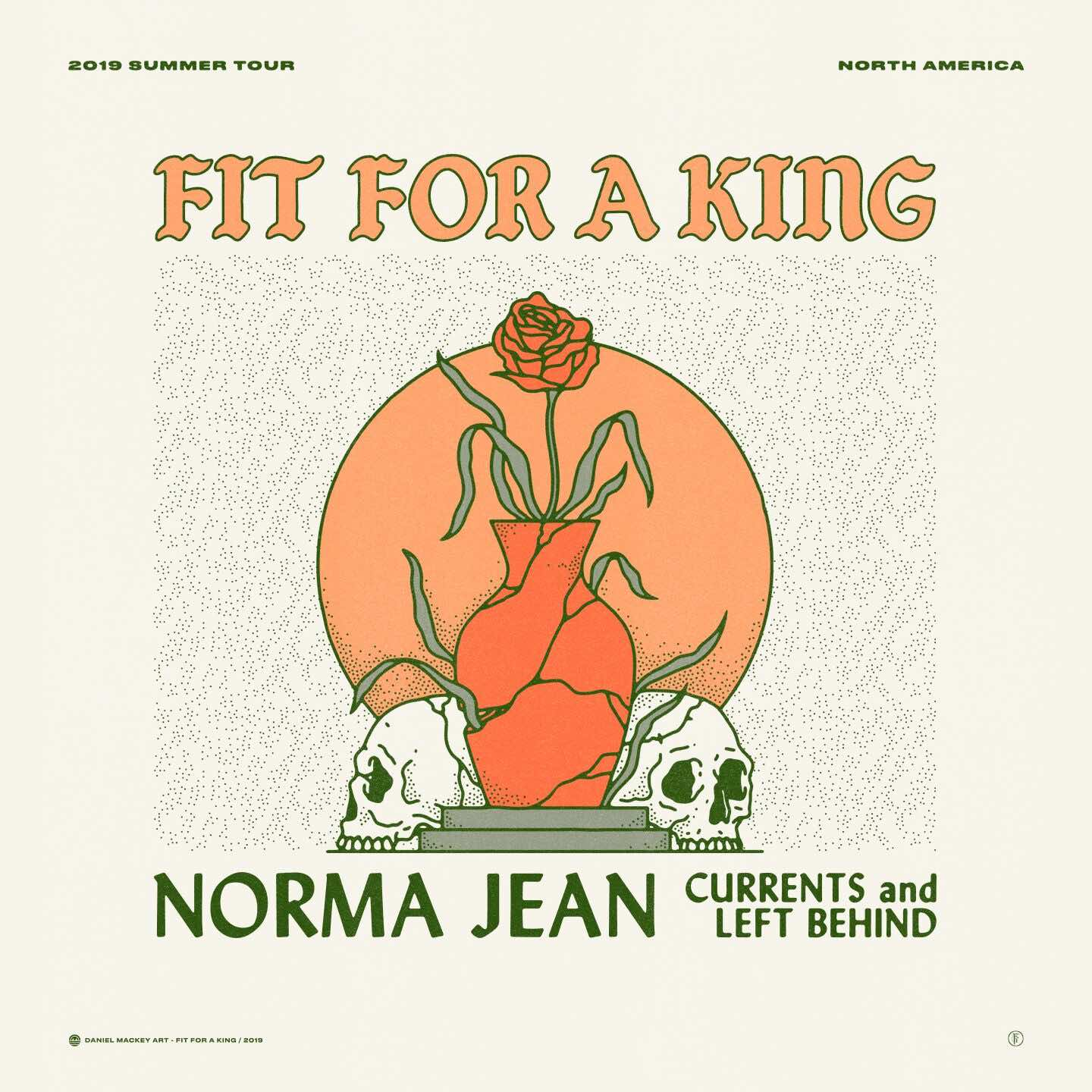 Fit For A King, Norma Jean, Currents, Left Behind Live In Ottawa