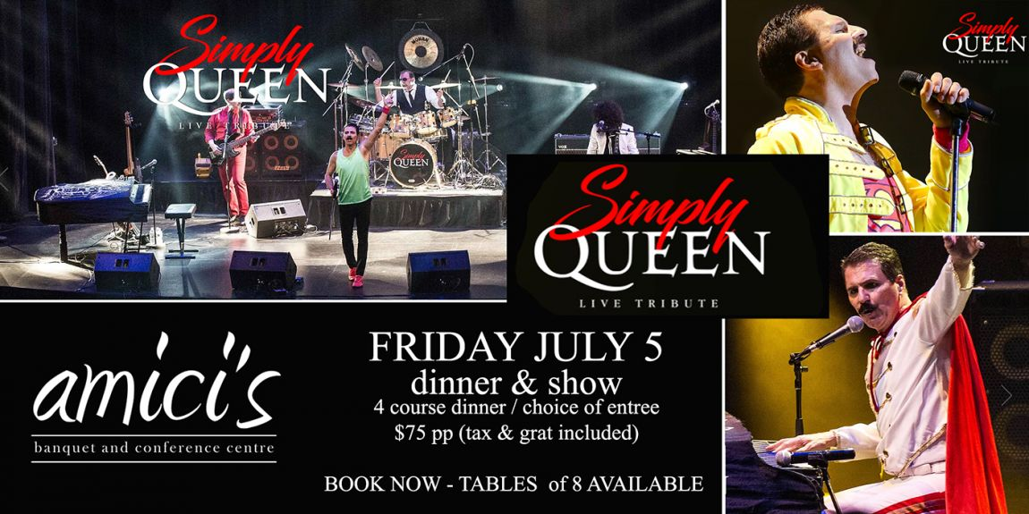 SIMPLY QUEEN - Dinner Show