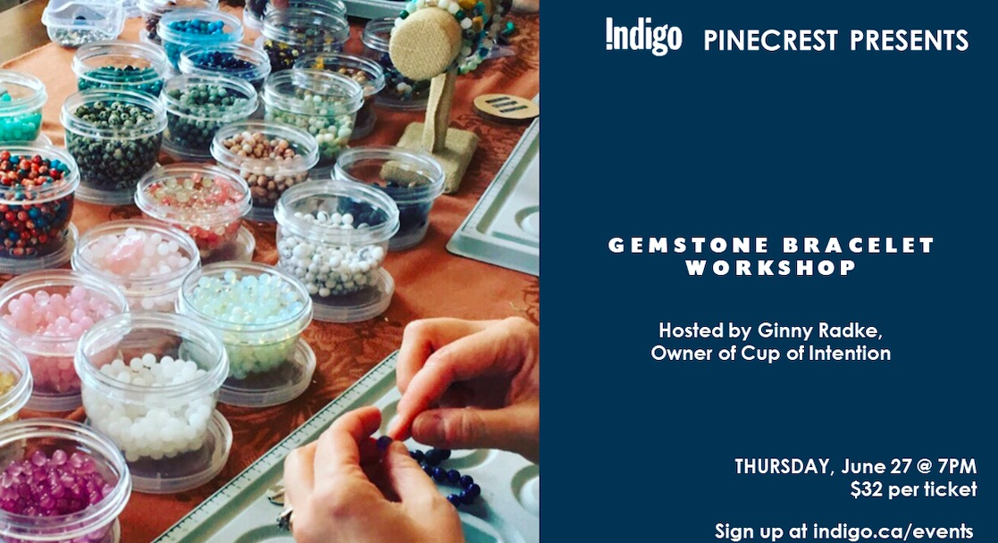 Gemstone Bracelet Workshop!