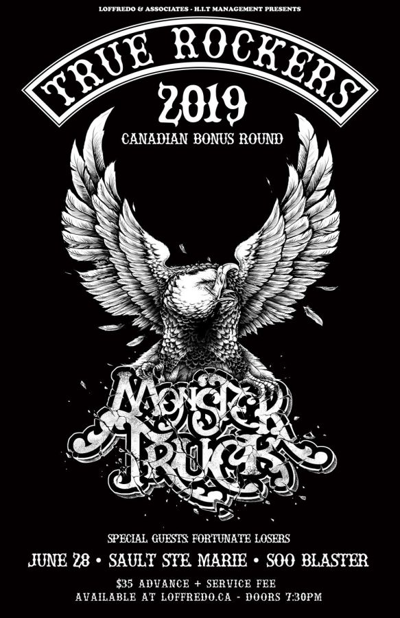 Monster Truck - Live in Sault Ste. Marie at Soo Blaster