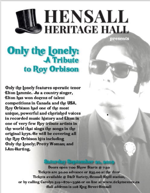 Only the Lonely...A Tribute to Roy Orbison