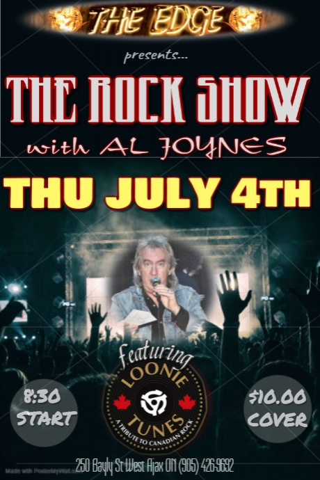 THE ROCK SHOW with AL JOYNES