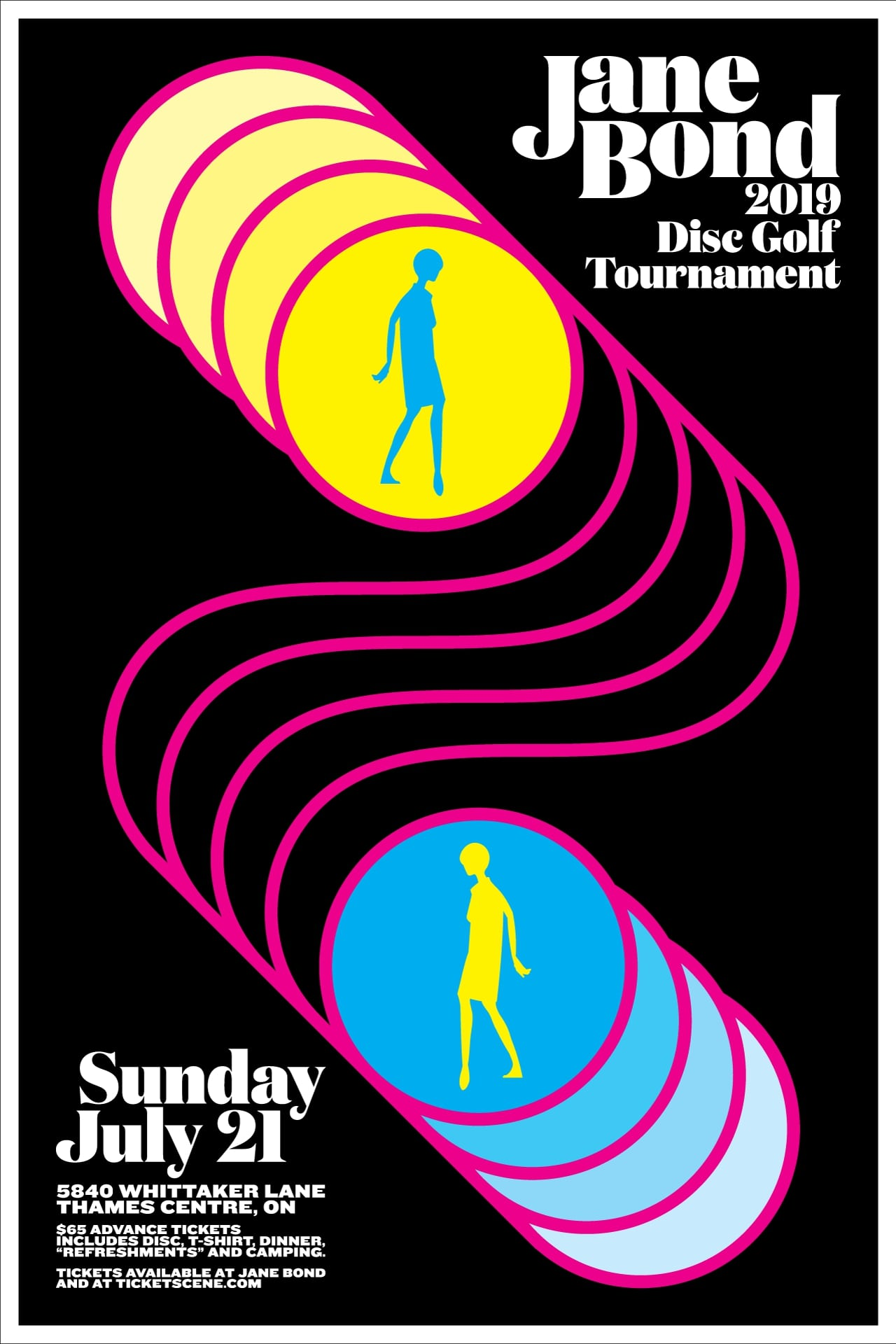 17th Annual Jane Bond Disc Golf Tournament