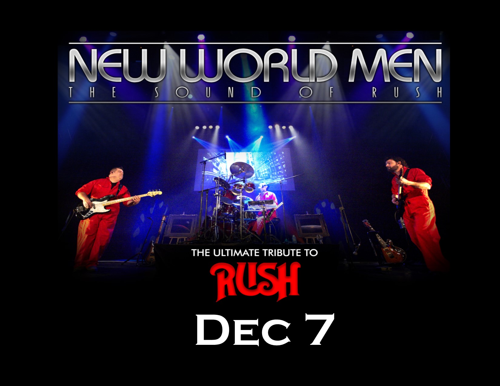 New World Men - A tribute to Rush