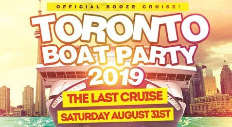 TORONTO'S LAST CRUISE OF SUMMER 2019 | SATURDAY AUG 31ST (OFFICIAL PAGE)